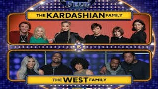 Kardashian Vs West! Let's meet the teams!  Celebrity Family Feud