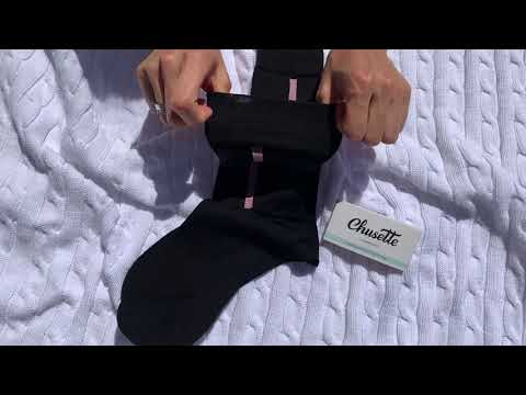 Black and style line men's socks. Thin cotton