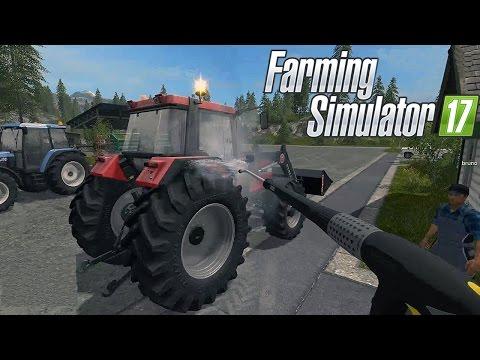 FARMING SIMULATOR 17 #19 - LA IDROPULITRICE - FS 2017 GAMEPLAY ITA w/supergashbell/xStarter