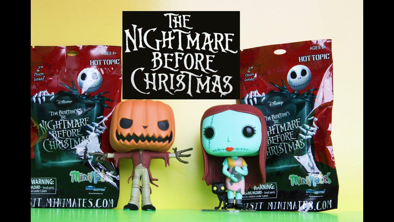 Nightmare Before Christmas Minimates Blind Bag Toys & Funko POP ...