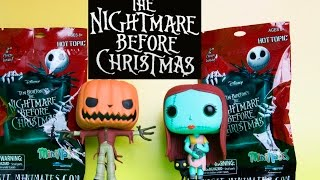 Nightmare Before Christmas Minimates Blind Bag Toys & Funko POP Review