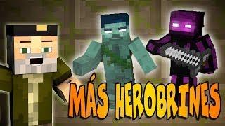 MUCHOS HEROBRINES!! MINECRAFT
