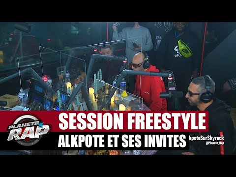 Youtube: Grosse session freestyle avec Alkpote, Aketo, Tunisiano & Savage Toddy! #PlanèteRap