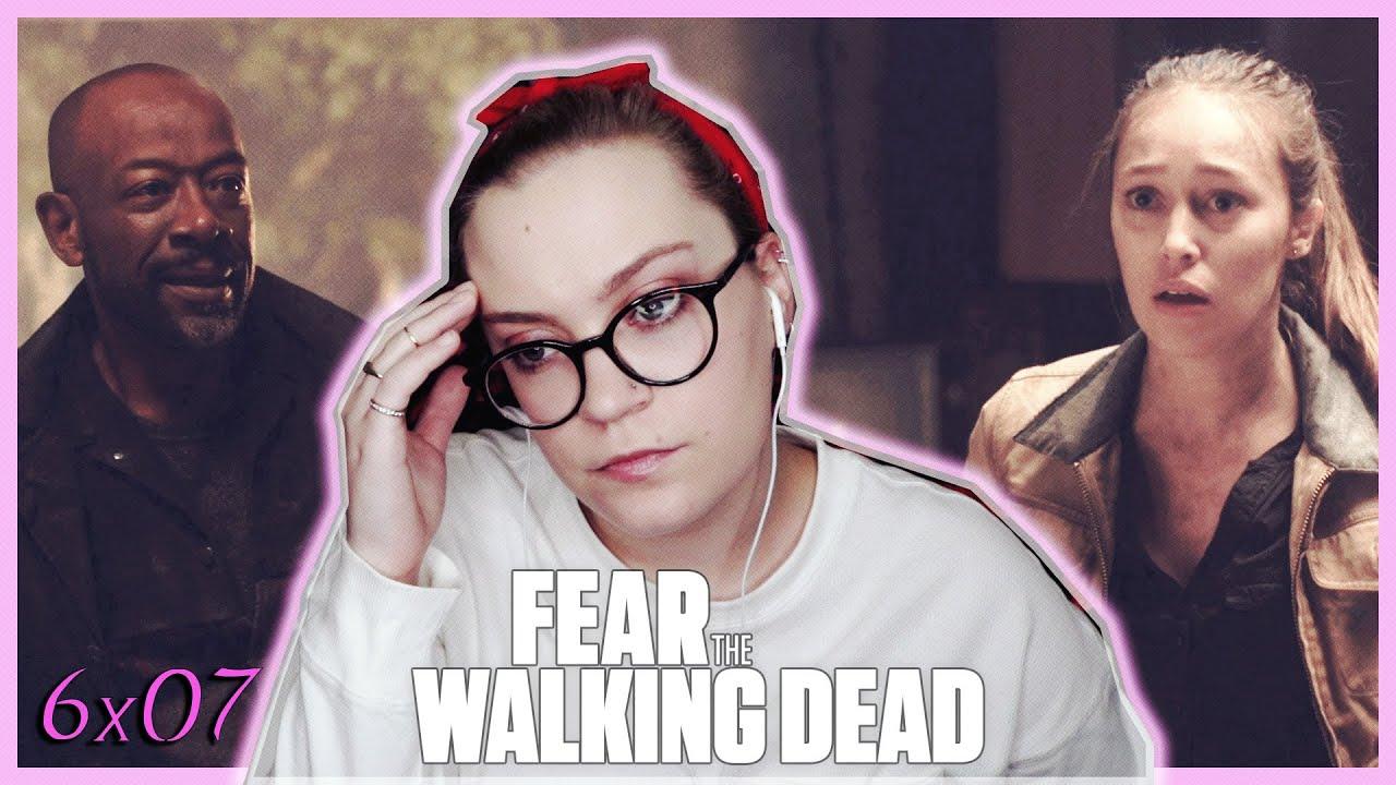 """Download Fear The Walking Dead Season 6 Episode 7 """"Damage from the Inside"""" REACTION! (Mid-Season Finale)"""