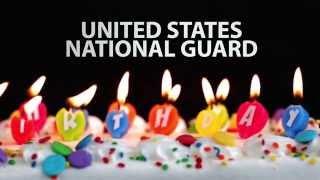 US National Guard 378th Birthday