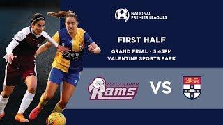 Macarthur Rams FC (women) v Sydney University SFC (women)