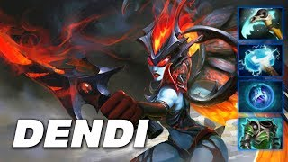 Dendi Queen of Pain - Dota 2 Pro Gameplay