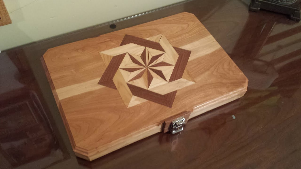 Build this Awesome Wooden Inlayed Laptop Case for your Computer ...