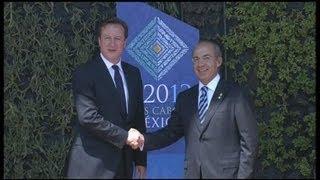 G20 : la petite phrase de Cameron ne surprend pas outre-Manche