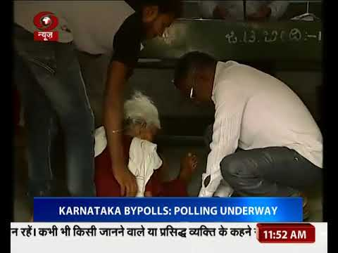 Voting underway for Karnataka bypolls