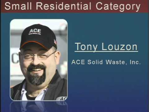 EIA Driver of the Year Tony Louzon from ACE Solid Waste, Inc.  - Buy American