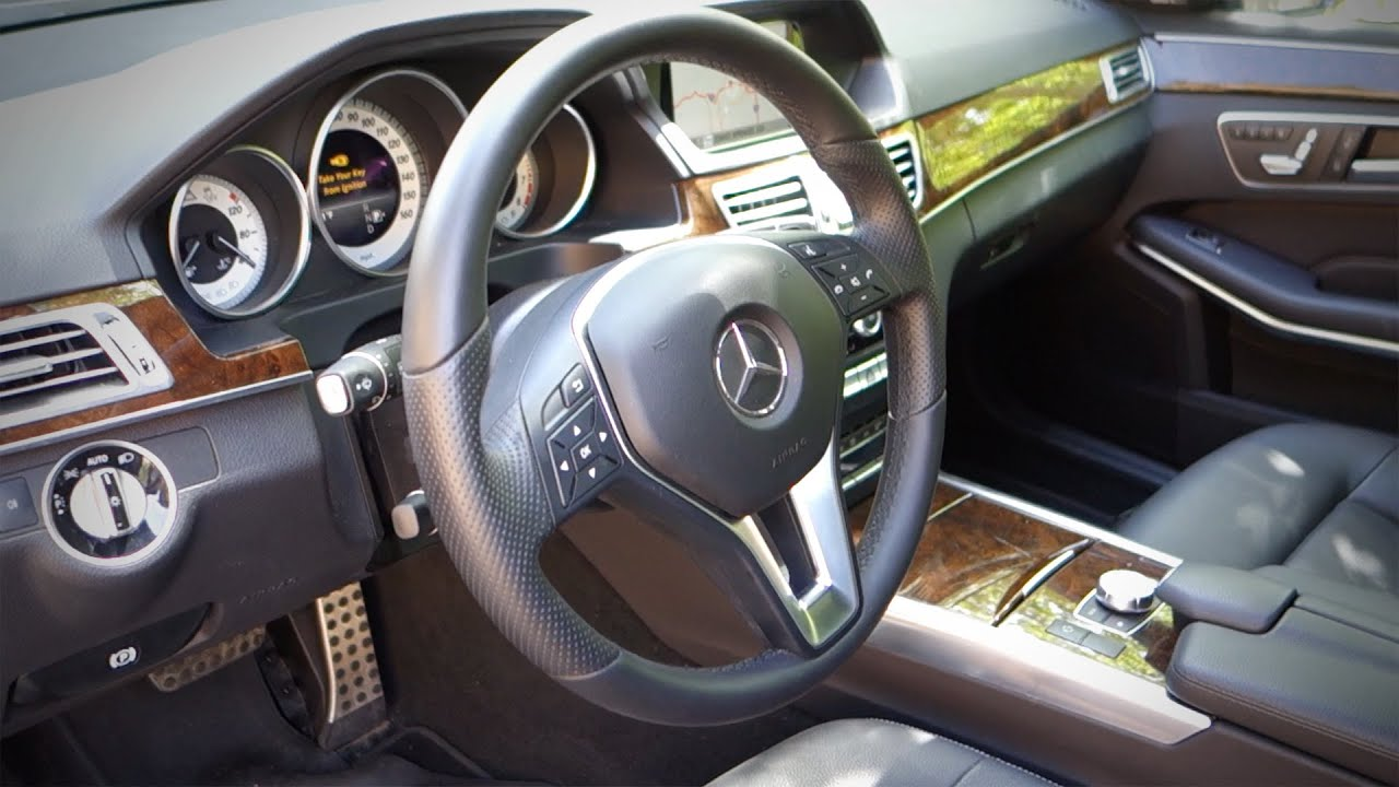 2015 Mercedes Benz E350 Review Part 2 Of 3 Interior Youtube