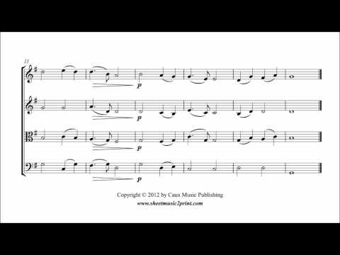 Nearer, my God, to Thee - String Quartet