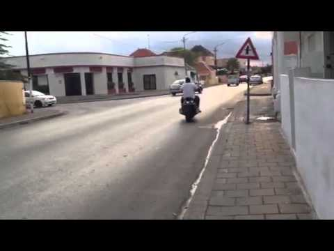 Ivan Vorm test driving VMax