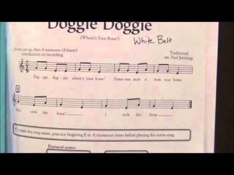 White Belt song - Recorder Karate 2