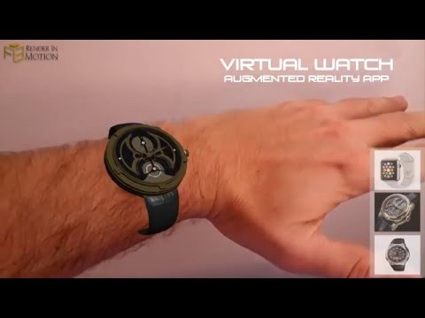 Virtually your's, an Augmented Reality App for you to WATCH!