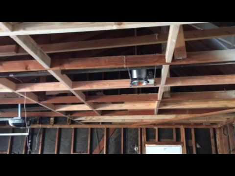 Garage Ceiling Framing By Crown Construction / FREE ESTIMATES / 818 974 3210