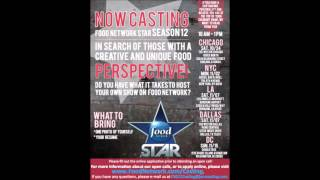 Now Casting Season 12 of Food Network's Food Network Star!