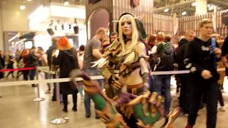 Alleria Windrunner, Lich Queen Jaina, Arthas, Tauren Hunter, Varian And More at Comic Con 2017