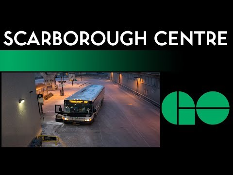 GO Bus - Scarborough Centre Bus Terminal Walkthrough