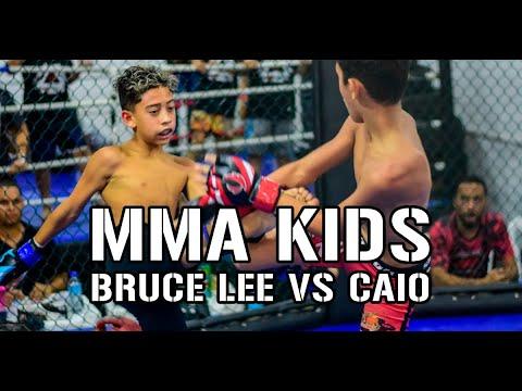 [MMA Kids] Bruce Lee Vs Caio - Champions Fight Kids