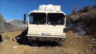 Albanien Offroad Steyr 12M18 Puch Pinzgauer MAN KAT1a1