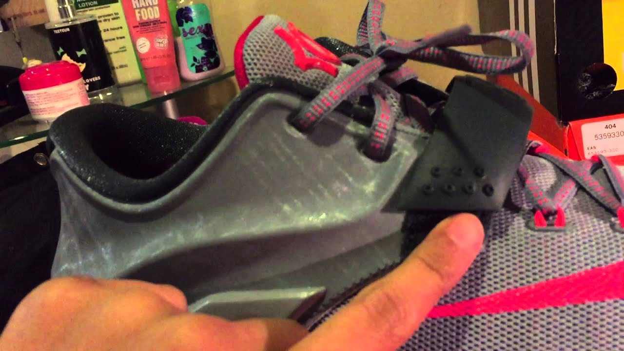 nike kd 7 calm before the storm gs review on foot youtube
