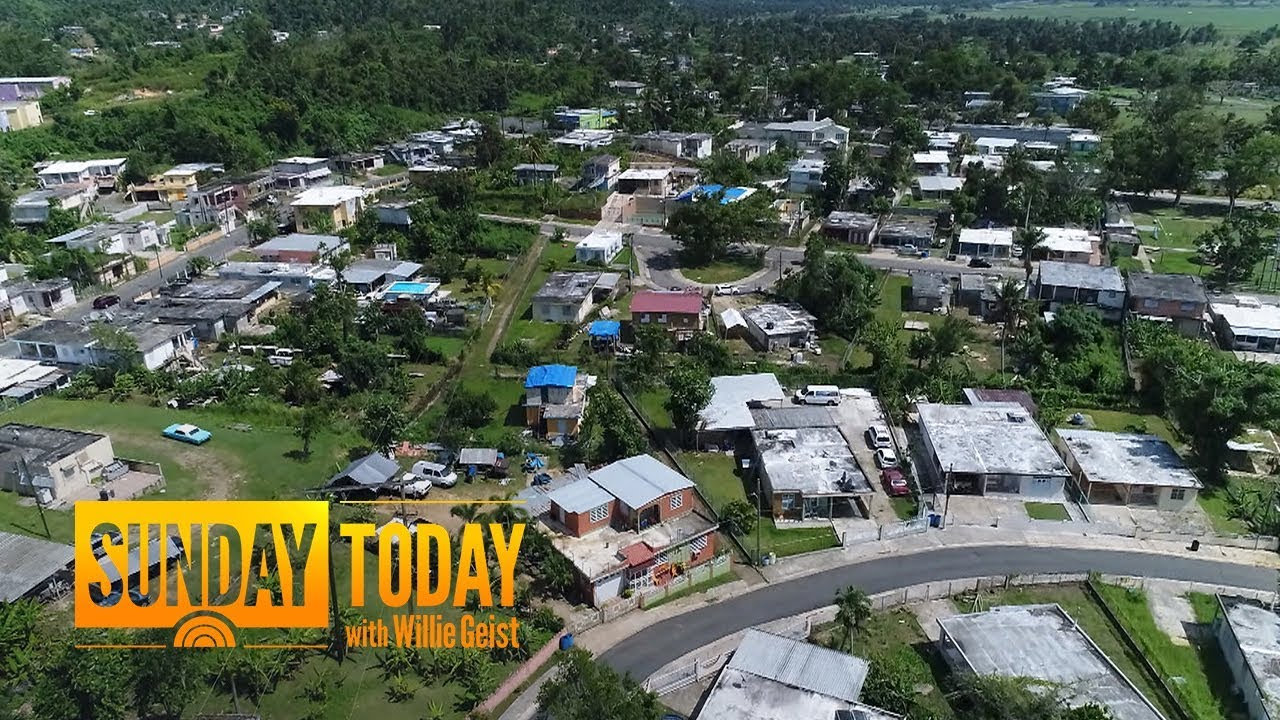 9 Months After Hurricane Maria, The Battle For Puerto Rico's Future Is Underway | Sunday TODAY