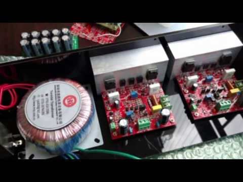 dny40w How to diy  your own Power Amp Successfully :  Assembly & Final Testing