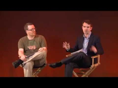 Jimmy Carr and Frankie Boyle Interview