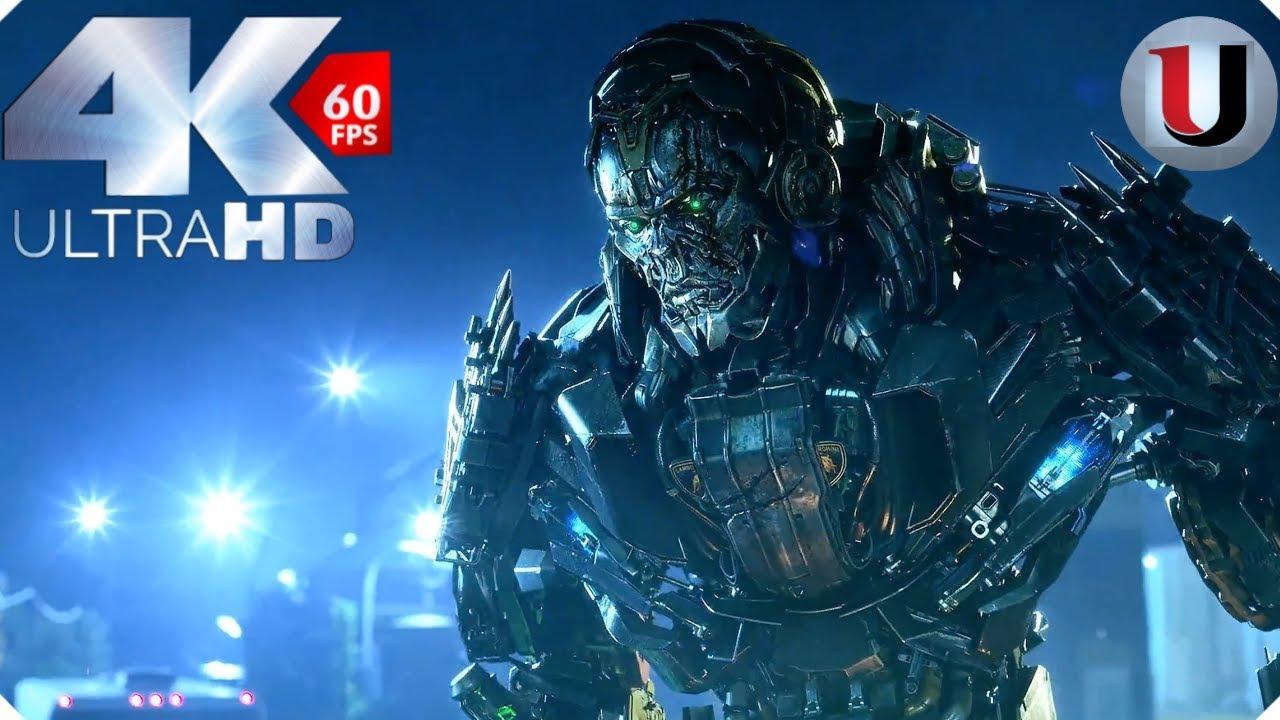 Lockdown Kills Ratchet Scene Transformers 4 Age of ...
