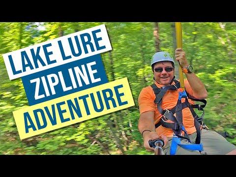 Lake Lure Zip Line Adventure