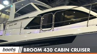 Broom 430 Aft Cabin Cruiser: First Look Video
