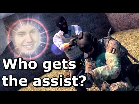 CS:GO: Who gets the assist?
