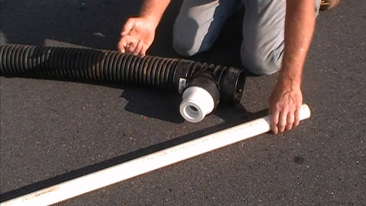 How To Adapt Pvc To Corrugated Pipe Correctly By Apple