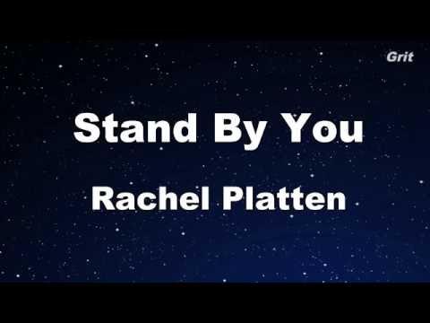 Stand By You - Rachel Platten Karaoke【Guide Melody】