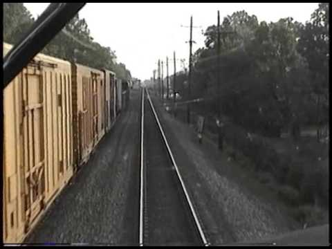 NJT Raritan Valley Line Cab Ride: Newark to High Bridge (~2000)