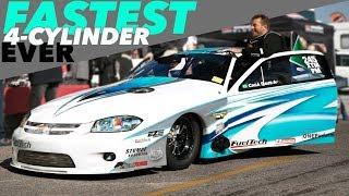 "4-Cylinder WORLD RECORD | 1600HP+ ""Cobalt"" from BRAZIL!"
