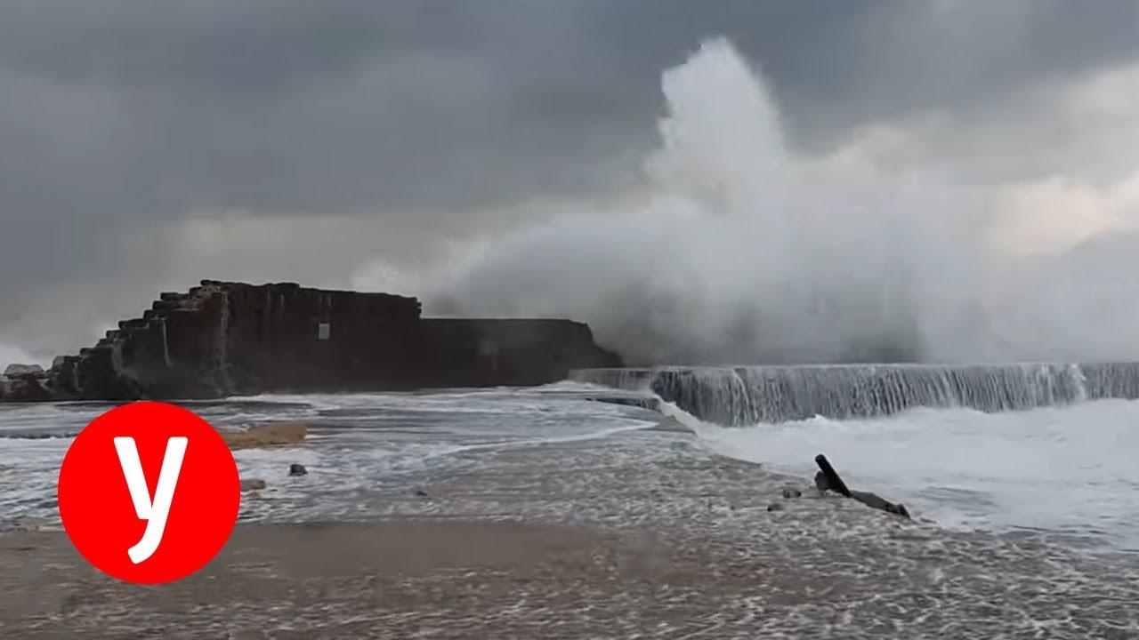 מזג אוויר חורפי ברחבי הארץ