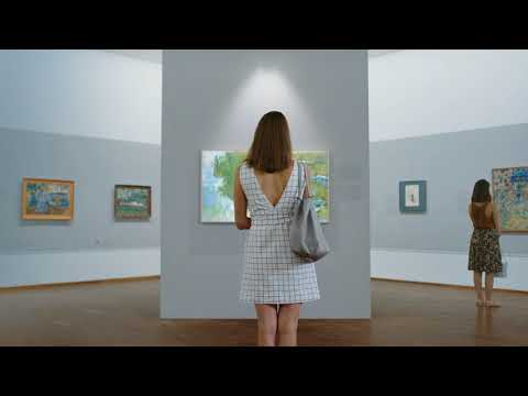 Samsung The Frame at Albertina Museum Austria