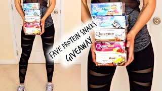 FAVORITE HEALTHY PROTEIN POWDER & Snacks for Weight Loss | What I Ate to Lose 88lbs
