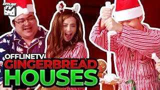 OFFLINETV GINGERBREAD HOUSE BUILDING CONTEST