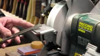 Wood Turning - Tool Sharpening