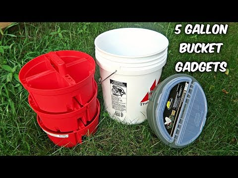 5 Gallon Bucket Gadgets put the Test!