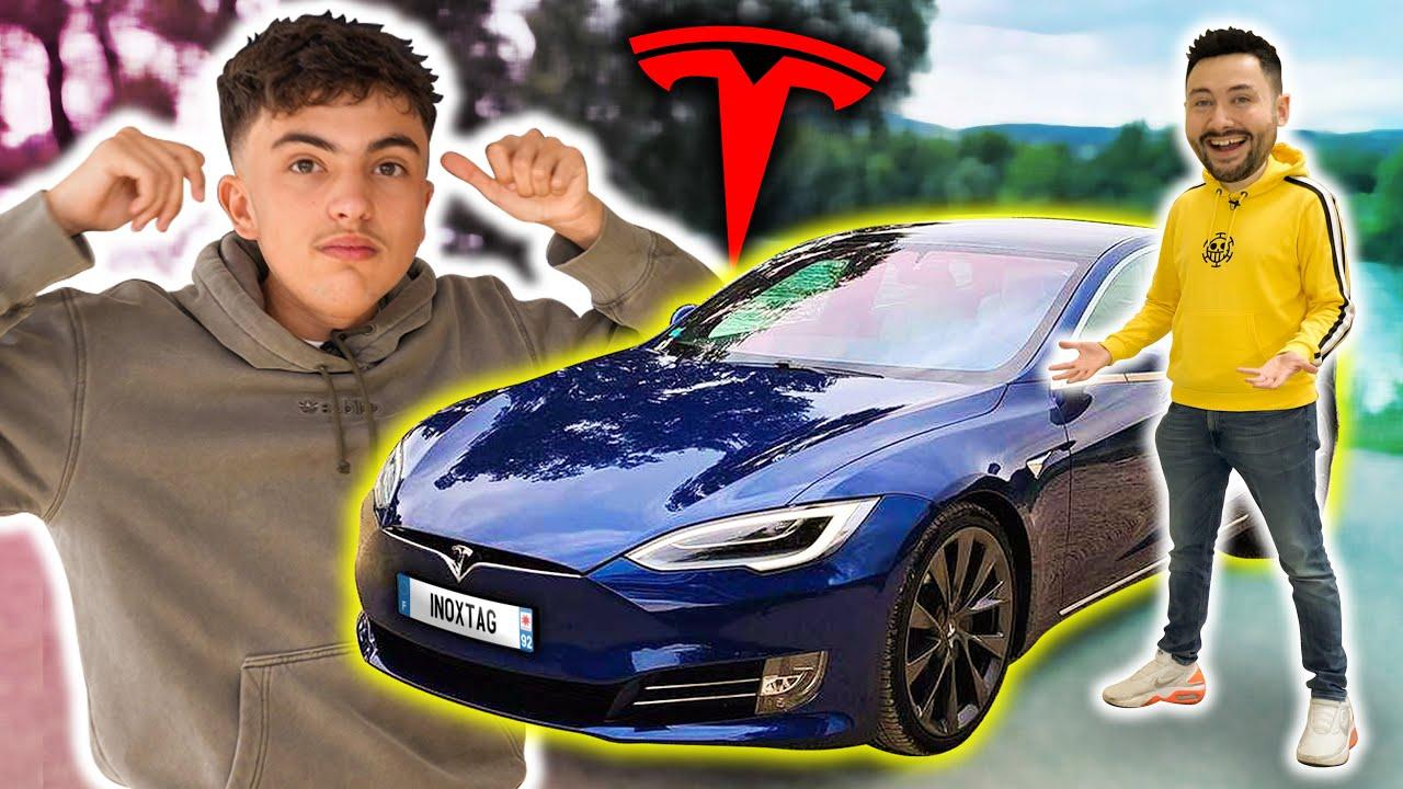 J'ai acheté une Tesla pour Inoxtag ! (il était pas prêt)