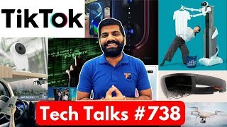 Tech Talks #738 - Mi9 Launch, TikTok Ban in India, Oppo F11 Pro 48MP, Drones in US, Gmail Update