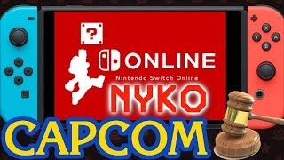 Massive News: New Capcom Switch Game |  Nintendo Switch Online Details | Nyko Switch Lawsuit