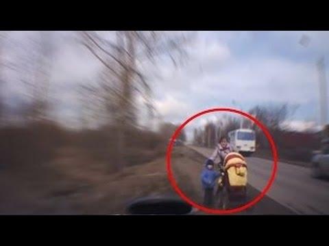 Мгновенная  реакция водителей [Cпасает ЖИЗНЬ!]