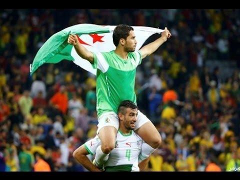 إبداع الجزائر في منديال البرازيل وجنون المعلقين HD 20152016