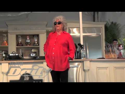 Paula Deen Licks Butter Off Muscle Man's Abs; Rides Him